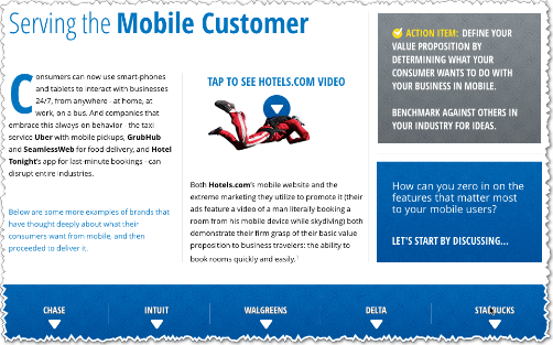 Serving the Mobile Customer